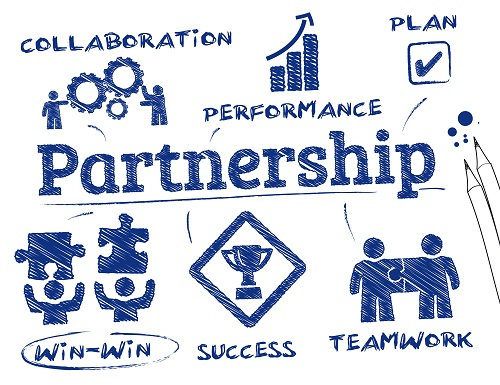 PARTNER WITH THIRD PARTIES