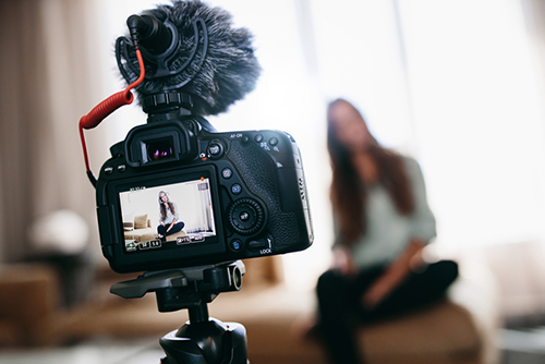 Video blogging or vlogging is also becoming more and more popular